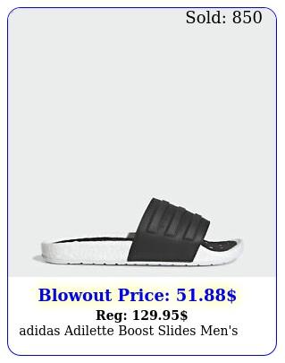 adidas adilette boost slides men'