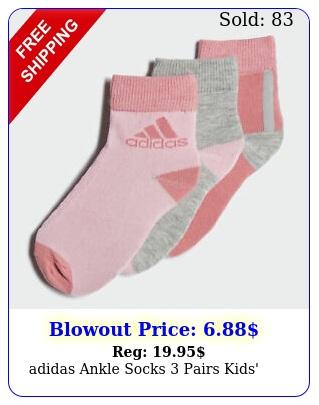 adidas ankle socks pairs kids