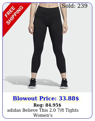adidas believe this  tights women'