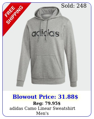 adidas camo linear sweatshirt men'