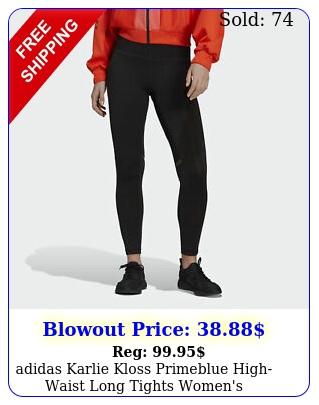 adidas karlie kloss primeblue highwaist long tights women'