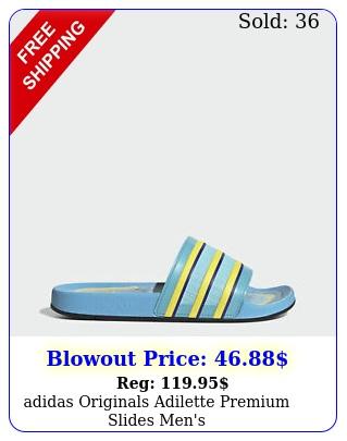 adidas originals adilette premium slides men'