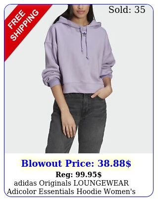 adidas originals loungewear adicolor essentials hoodie women'
