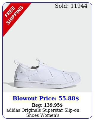 adidas originals superstar slipon shoes women'