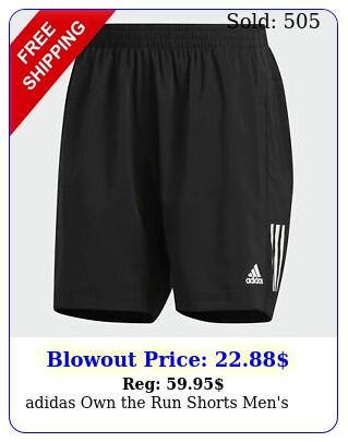 adidas own the run shorts men'