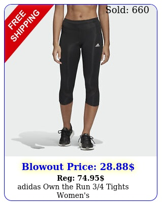 adidas own the run tights women'