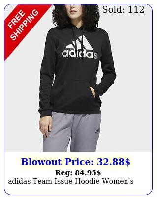 adidas team issue hoodie women'