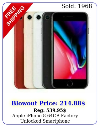 apple iphone gb factory unlocked smartphon