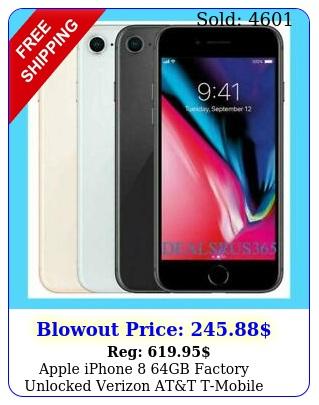 apple iphone gb factory unlocked verizon att tmobile sprin