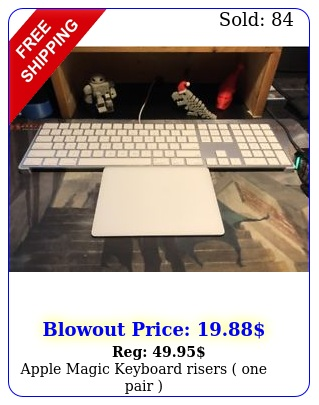 apple magic keyboard risers one pai