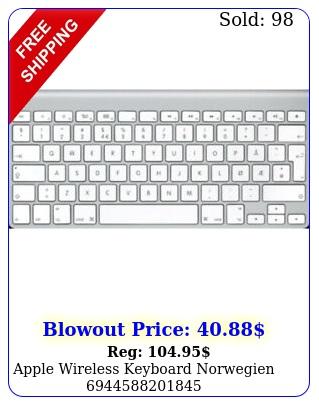 apple wireless keyboard norwegie