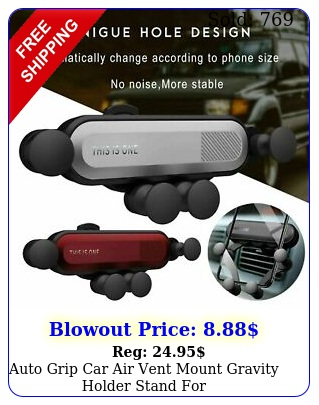 auto grip car air vent mount gravity holder stand iphonesamsungcell phon
