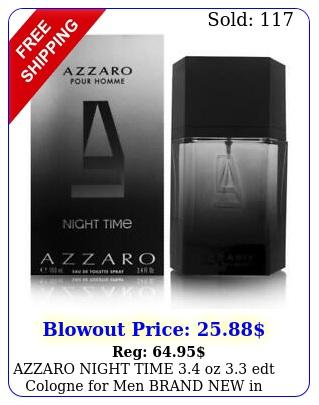 azzaro night time oz edt cologne men brand i