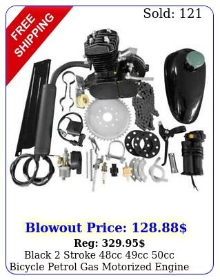 black stroke cc cc cc bicycle petrol gas motorized engine bike motor ki