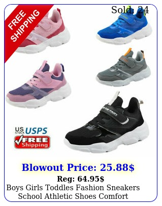 boys girls toddles fashion sneakers school athletic shoes comfort running shoe