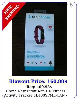 brand fitbit alta hr fitness activity tracker fbspmlcan fuchsia larg