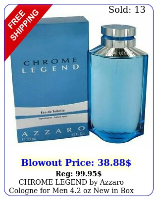 chrome legend by azzaro cologne men oz i
