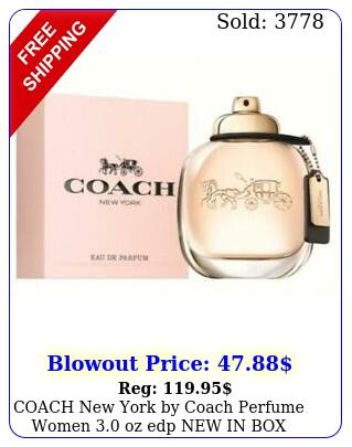 coach york by coach perfume women oz edp i