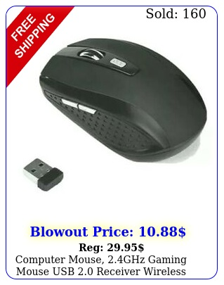 computer mouse ghz gaming mouse usb receiver wireless optical mouse p