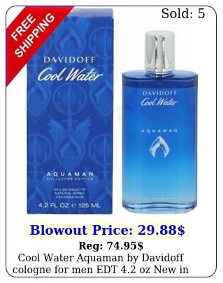 cool water aquaman by davidoff cologne men edt oz i