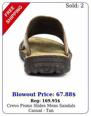 crevo pismo slides mens sandals casual  ta