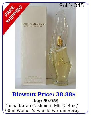 donna karan cashmere mist oz ml women's eau de parfum spra