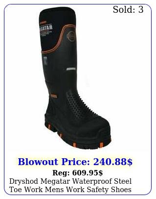 dryshod megatar waterproof steel toe work mens work safety shoes casual