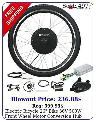 electric bicycle bike v w front wheel motor conversion hub kit cyclin