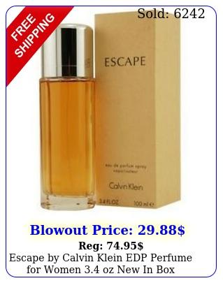escape by calvin klein edp perfume women oz i