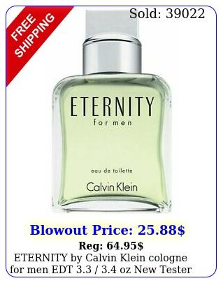 eternity by calvin klein cologne men edt  oz teste