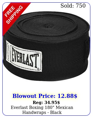everlast boxing mexican handwraps blac