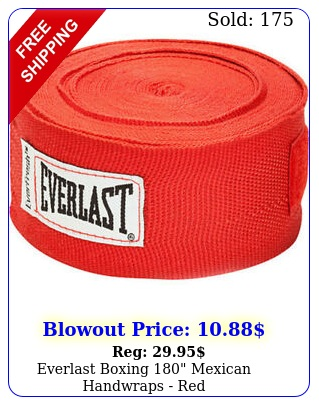 everlast boxing mexican handwraps re