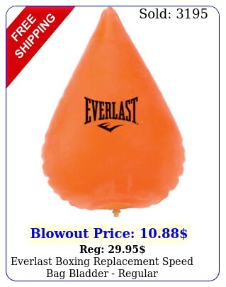 everlast boxing replacement speed bag bladder regula