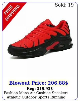 fashion mens air cushion sneakers athletic outdoor sports running shoes casua