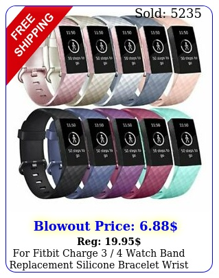 fitbit charge  watch band replacement silicone bracelet wrist stra