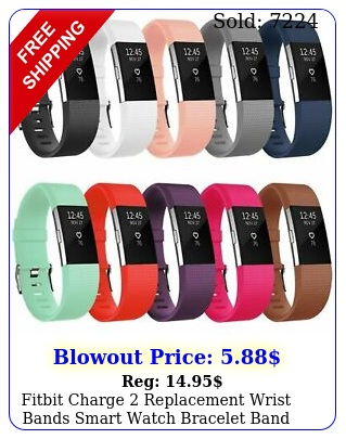 fitbit charge replacement wrist bands smart watch bracelet ban