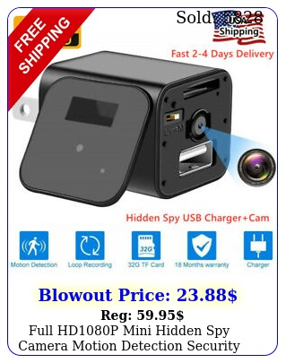 full hdp mini hidden spy camera motion detection security dvr charger cam u