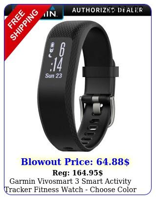 garmin vivosmart smart activity tracker fitness watch choose color siz