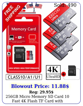 gb micro memory sd card fast k flash tf card with adaptercarcamera us