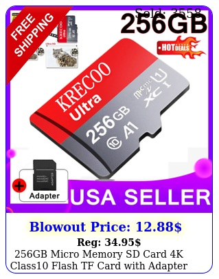 gb micro memory sd card k class flash tf card with adapter fr phone us