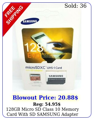 gb micro sd class memory card with sd samsung adapter cas