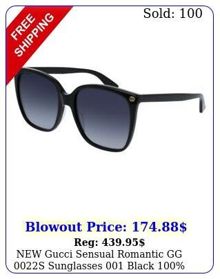 gucci sensual romantic gg s sunglasses black authenti
