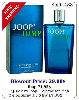 joop jump by joop cologne men oz spray i