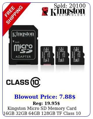 kingston micro sd memory card gb gb gb gb tf class smartphone