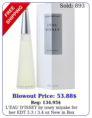 l'eau d'issey by issey miyake edt  oz i