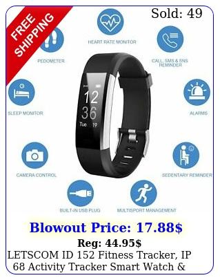 letscom id fitness tracker ip activity tracker smart watch call sm