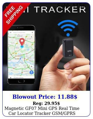 magnetic gf mini gps real time car locator tracker gsmgprs tracking device u