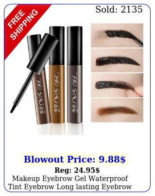 makeup eyebrow gel waterproof tint eyebrow long lasting eyebrow tint tattoo u