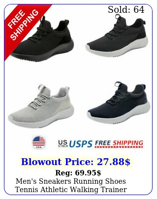men's sneakers running shoes tennis athletic walking trainer casual shoe