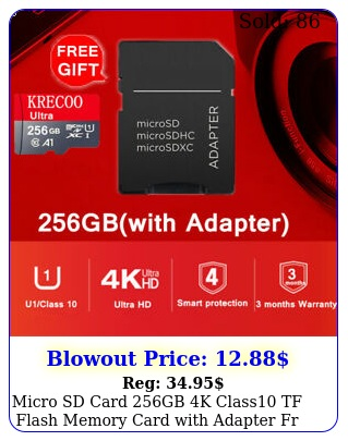 micro sd card gb k class tf flash memory card with adapter fr phonecamer
